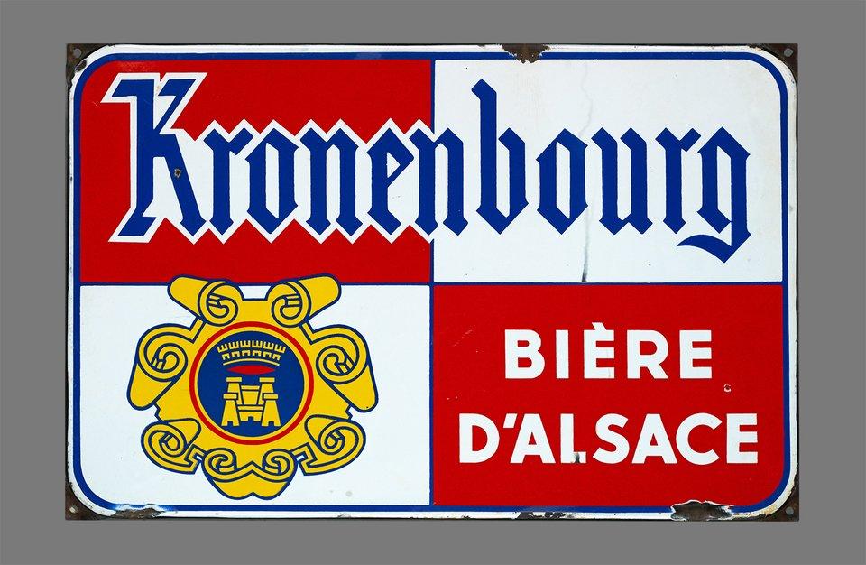 Planque Kronenbourg Annees 40